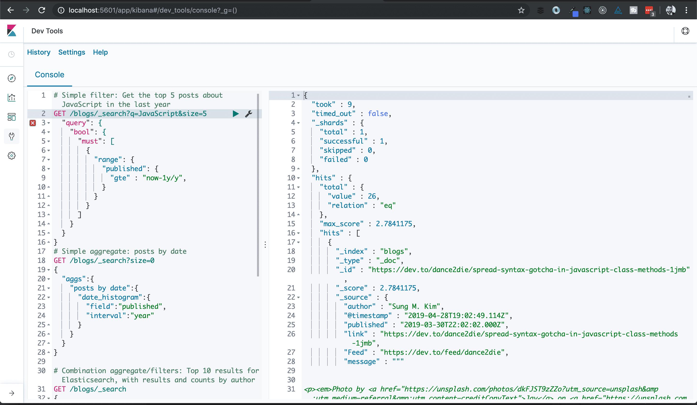 Quickstart Guide: Elastic Stack for Devs | Blog